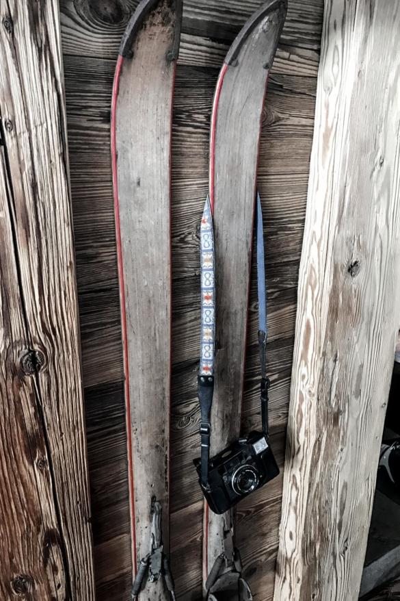 Alte Ski Kechtalm Lofer