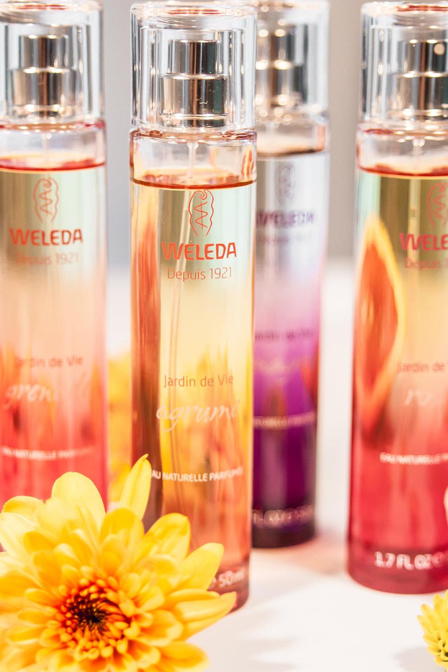 Parfüm von Weleda - Vergleich