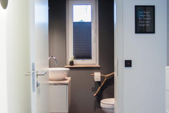 Gäste WC einrichten DIY Inspirationen