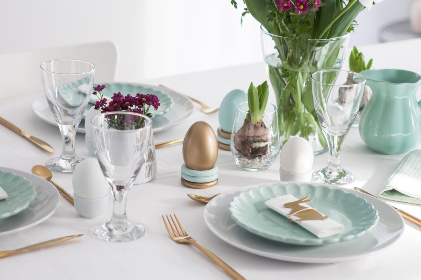 Gedeckter Tisch Ostern Inspiration