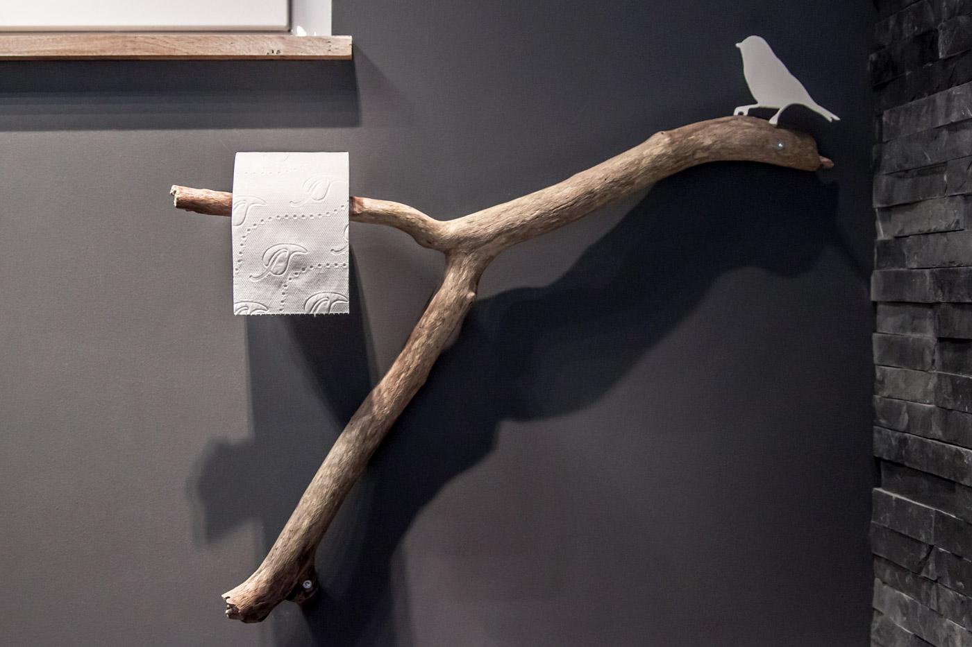 WC Rollenhalter DIY Idee