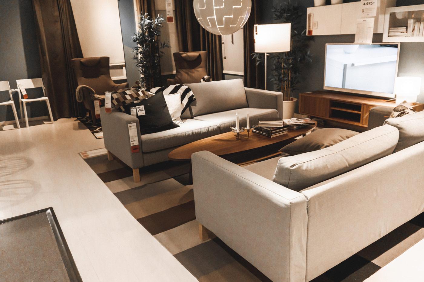Ikea Wohnzimmer einrichten