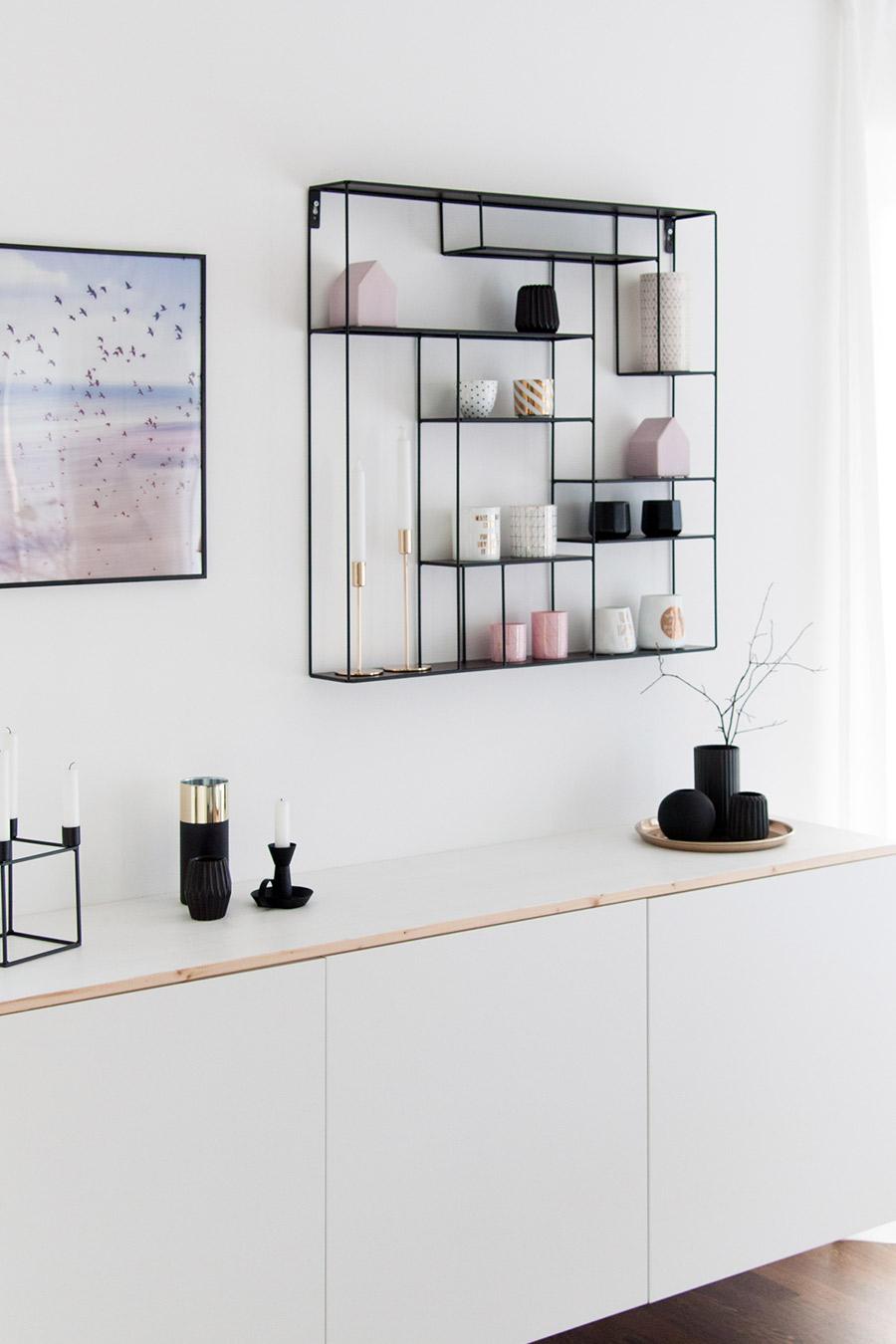 Ikea Besta wandhängend, Wandregal Bruka Design
