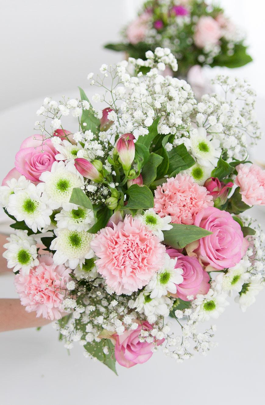 Blumenstrauss rosa Inspiration