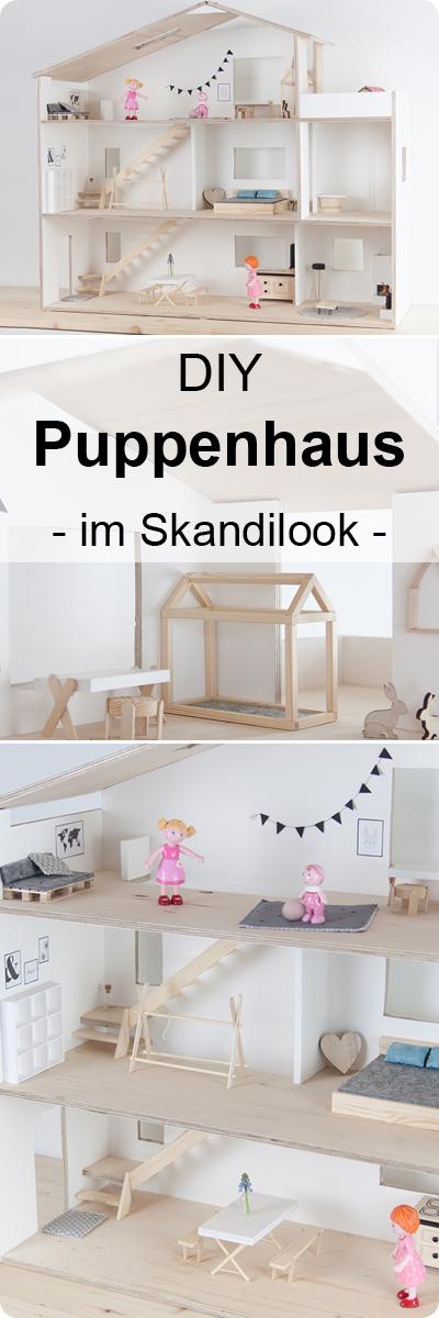DIY Puppenhaus Skandilook