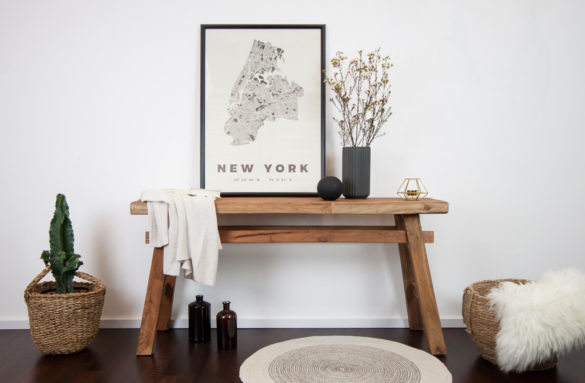 Citymap Poster New York