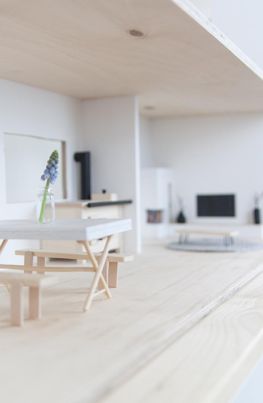 Puppenhaus DIY skandinavisch