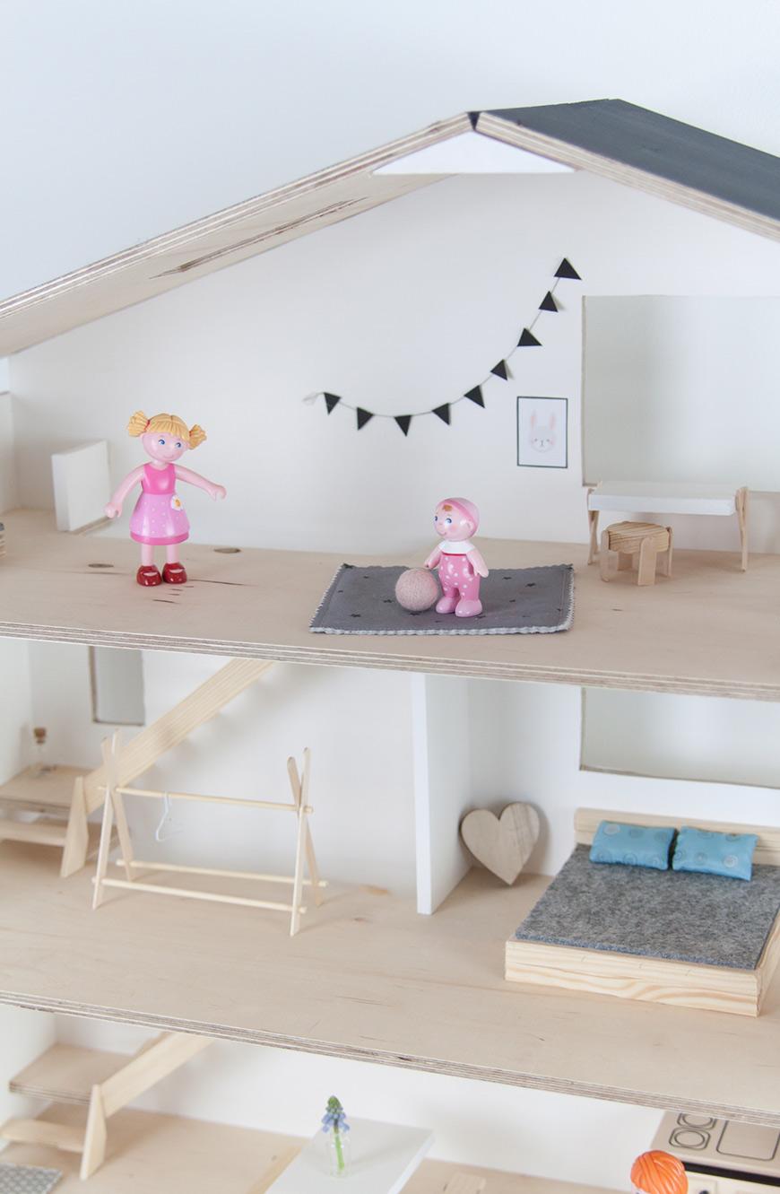 Skandi Puppenhaus selberbauen