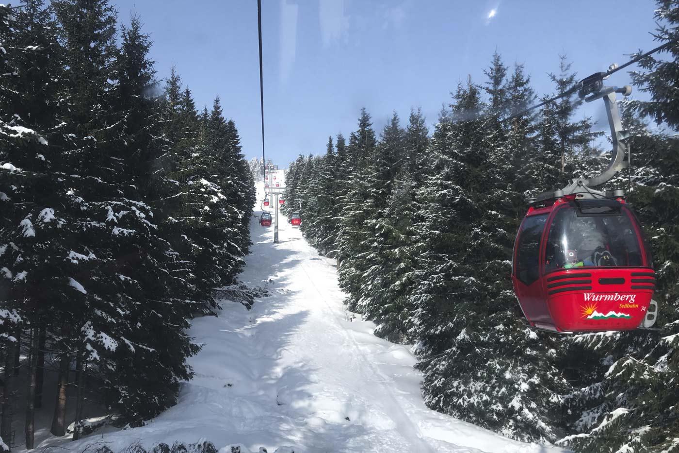 Skifahren Harz Wurmberg