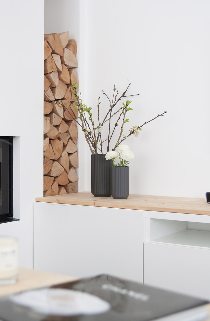 Ikea TV Board Besta dekorieren