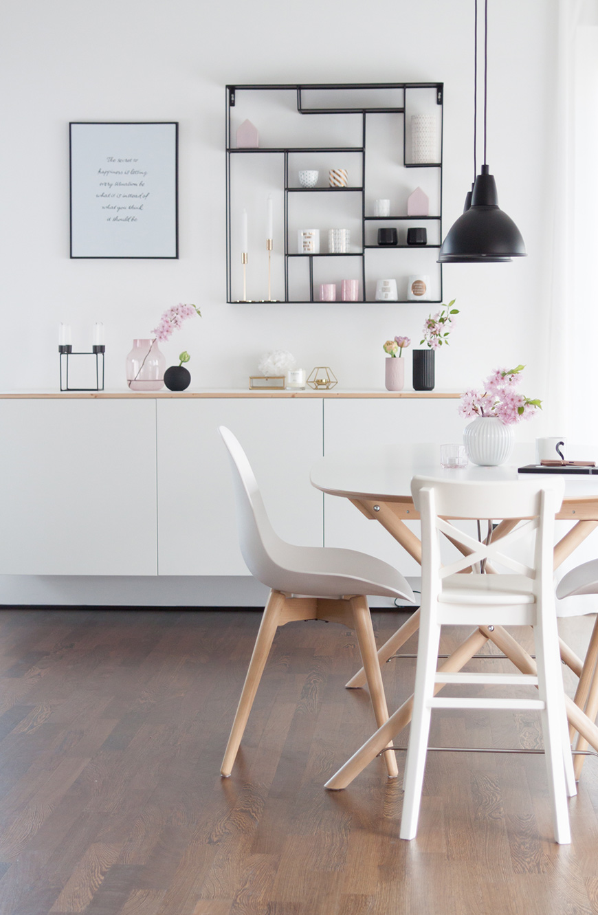 Esstisch und Sideboard Ikea
