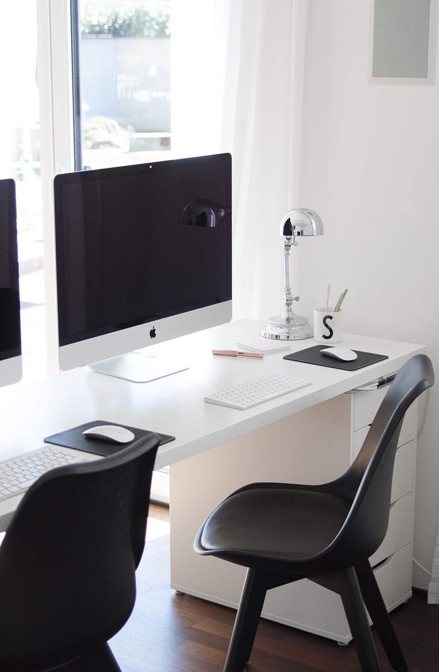 Schreibtisch Ikea fürs Homeoffice