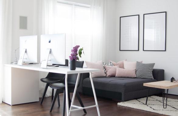 Homeoffice Ikea Wohnzimmer