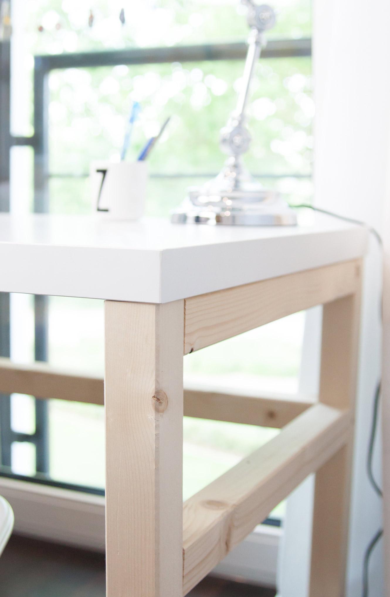 Ikea Linmon Kinderschreibtisch DIY