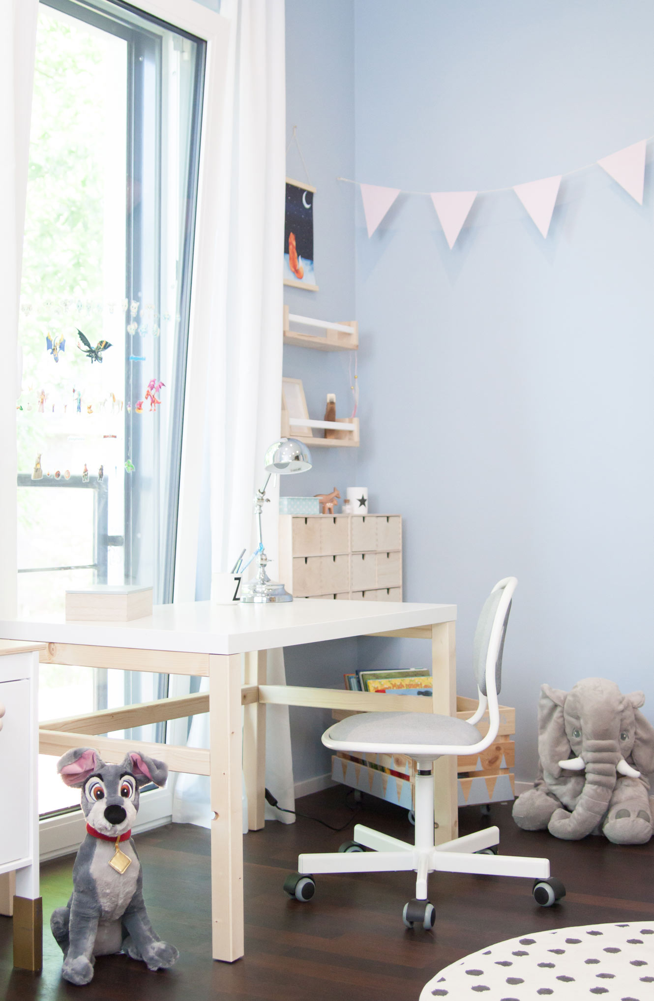 Kinderschreibtisch DIY Ikea Lindon