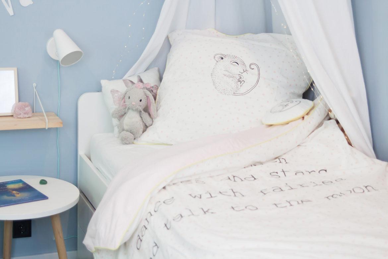 Kinderzimmer Mädchen hellblau Inspiration