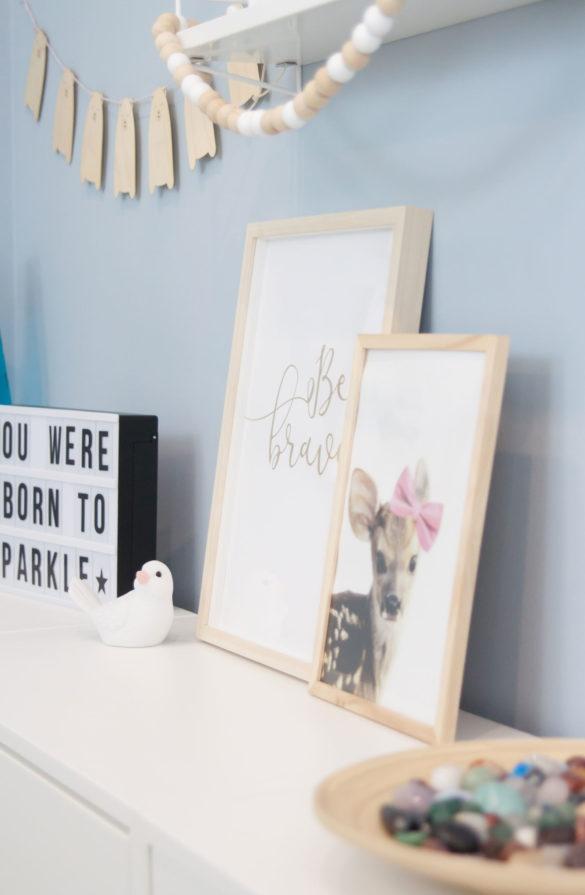 Kinderzimmer Mädchenzimmer hellblau