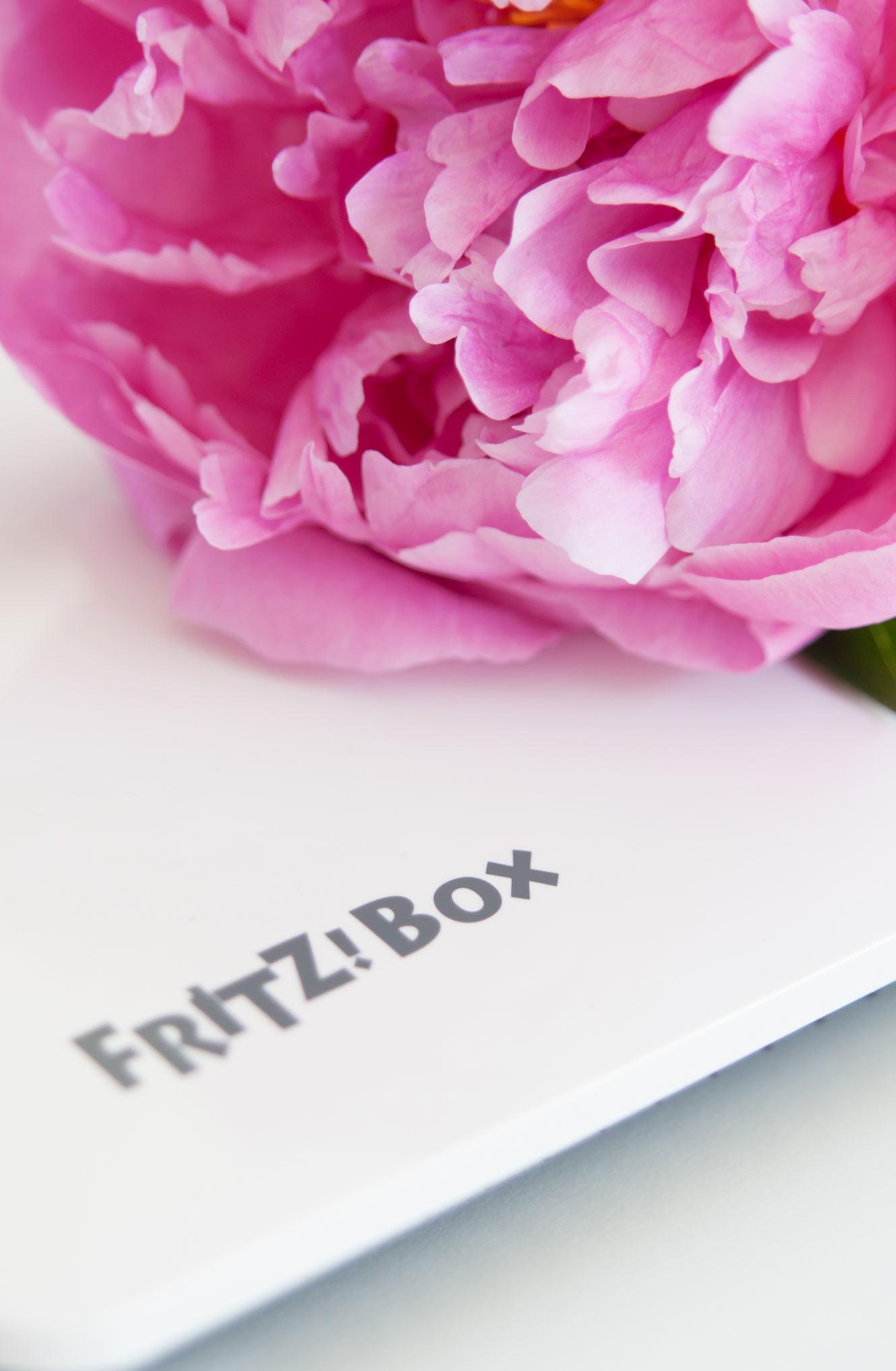 Fritz Box weiß
