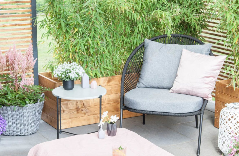 Terrasse Lounge DIY Inspiration