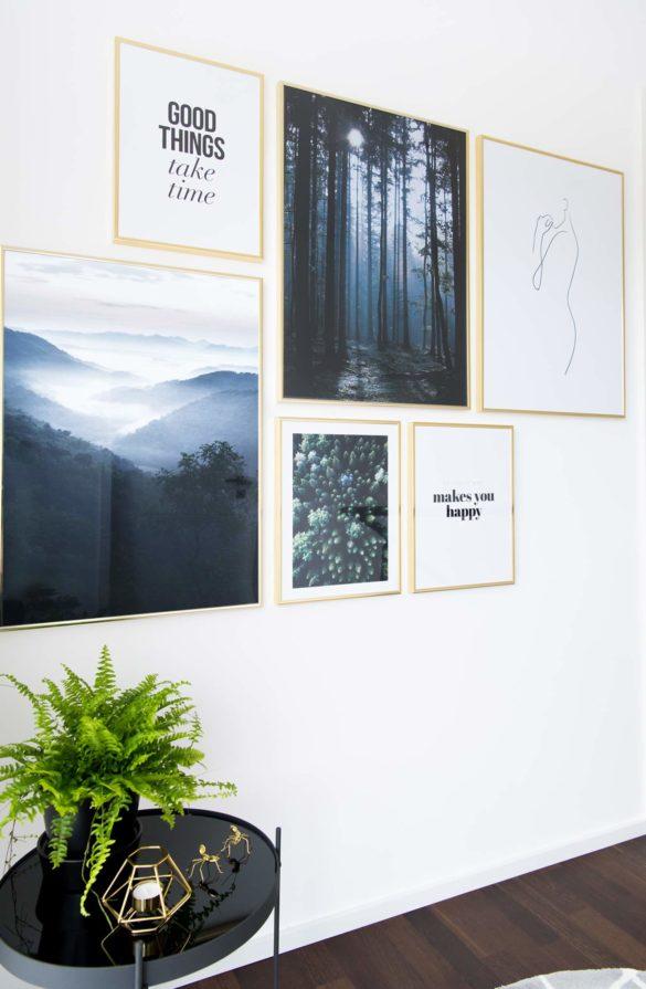 Bilderwand Flur Inspiration