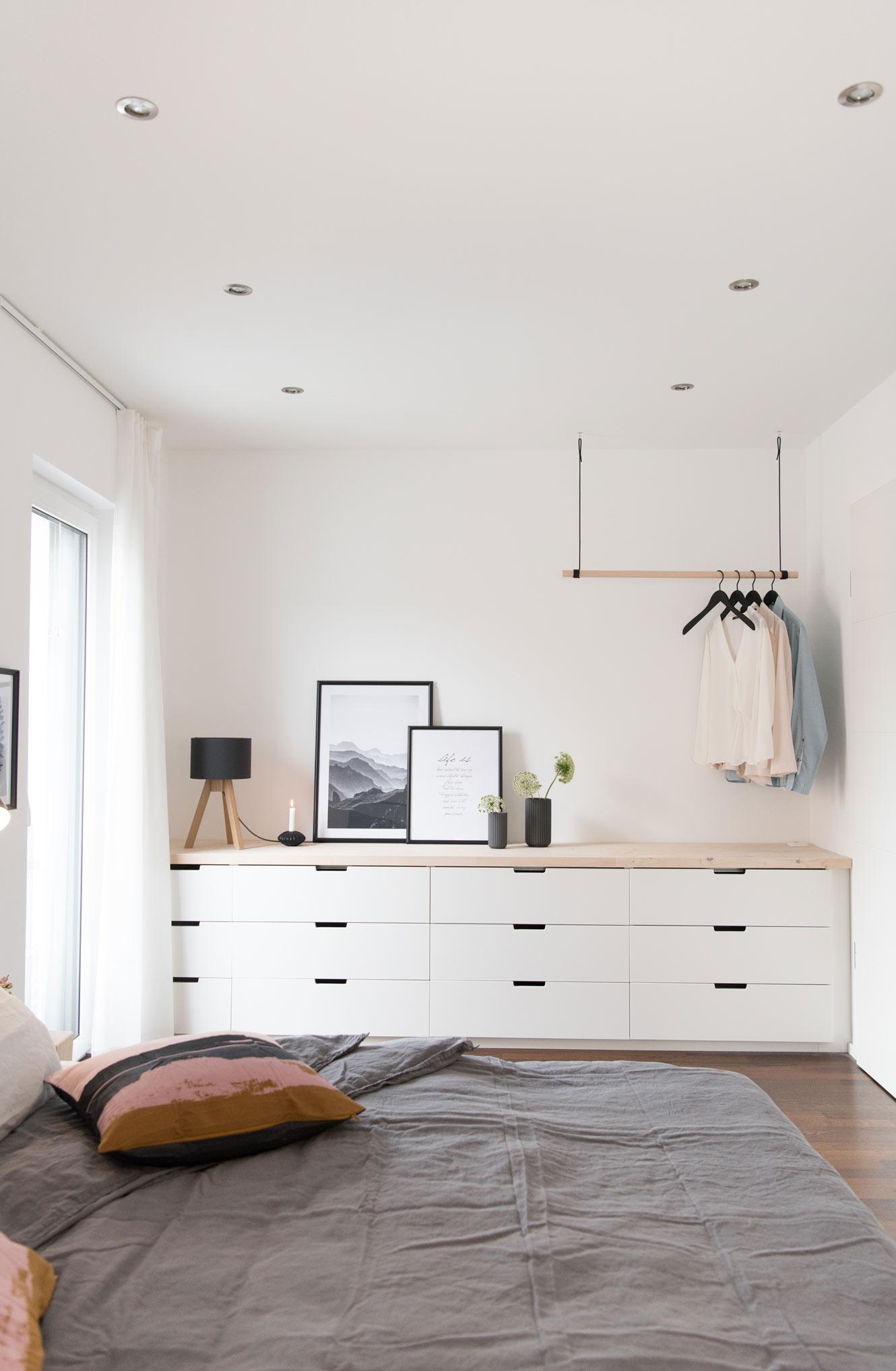 Ikea Nordli im Schlafzimmer