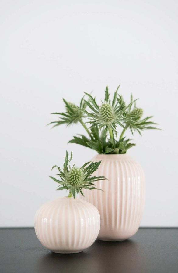 Kähler Vasen mit Disteln