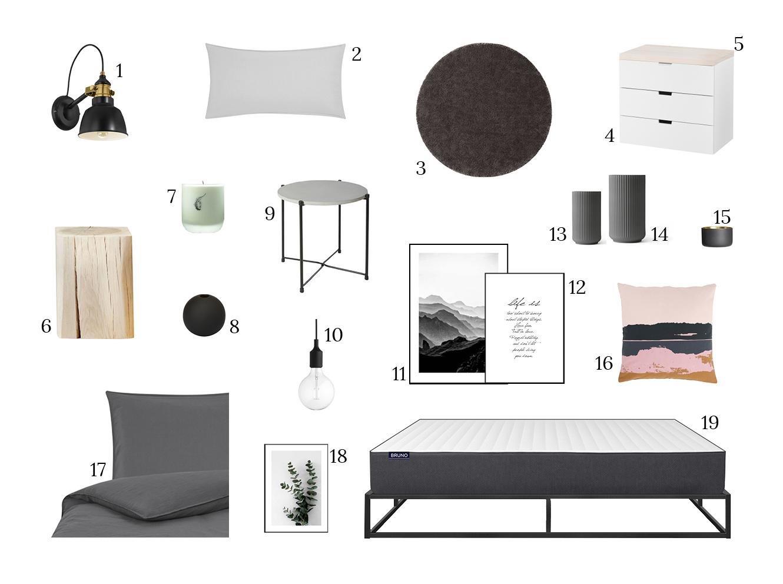 Schlafzimmer nordisch einrichten Empfehlungen