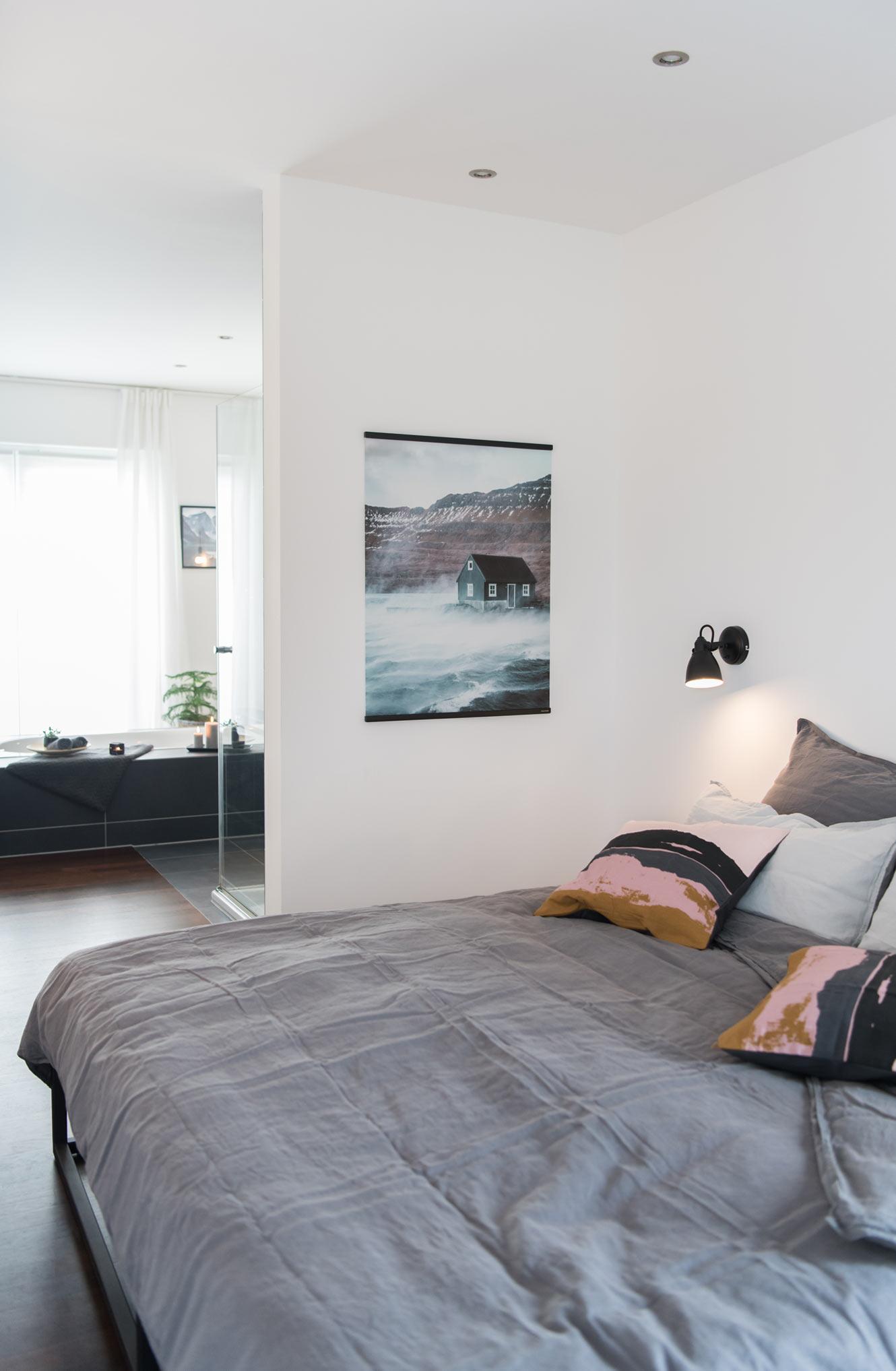 Walltones Leinwand Schlafzimmer