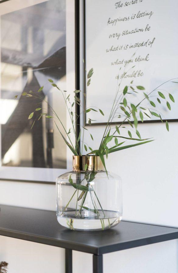 Vase gold HM Home