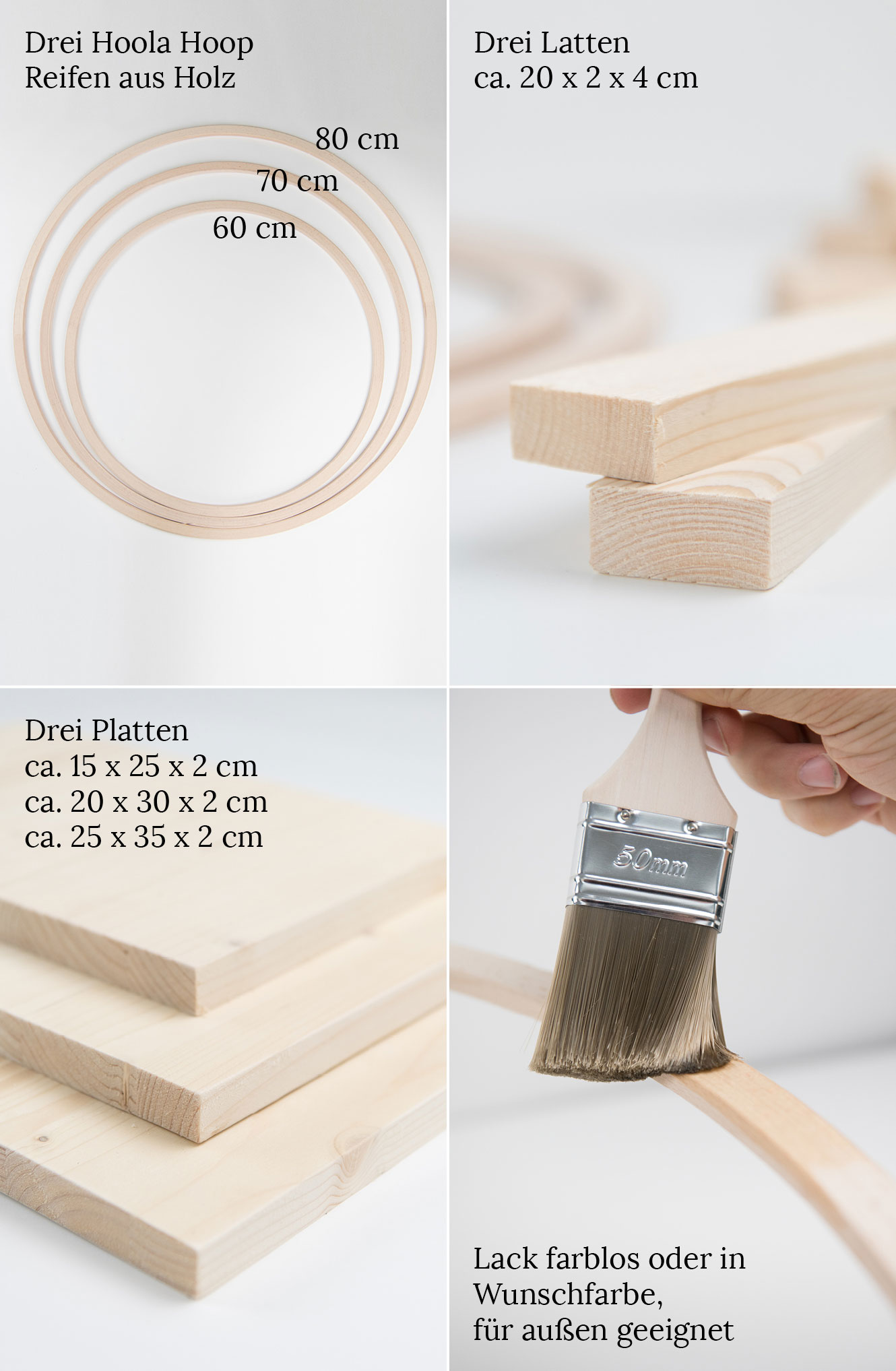 DIY Ring Lichterketten