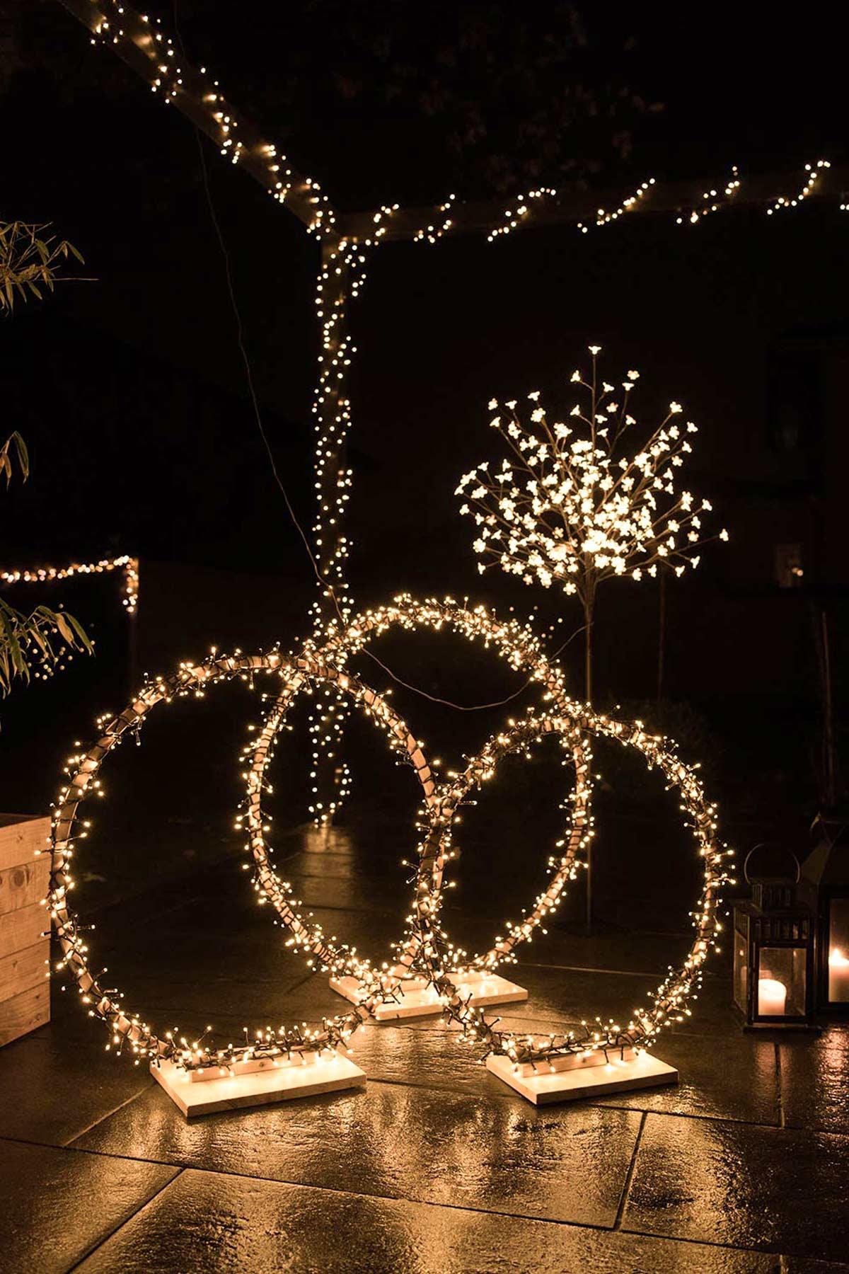 Lichterketten DIY Ringe
