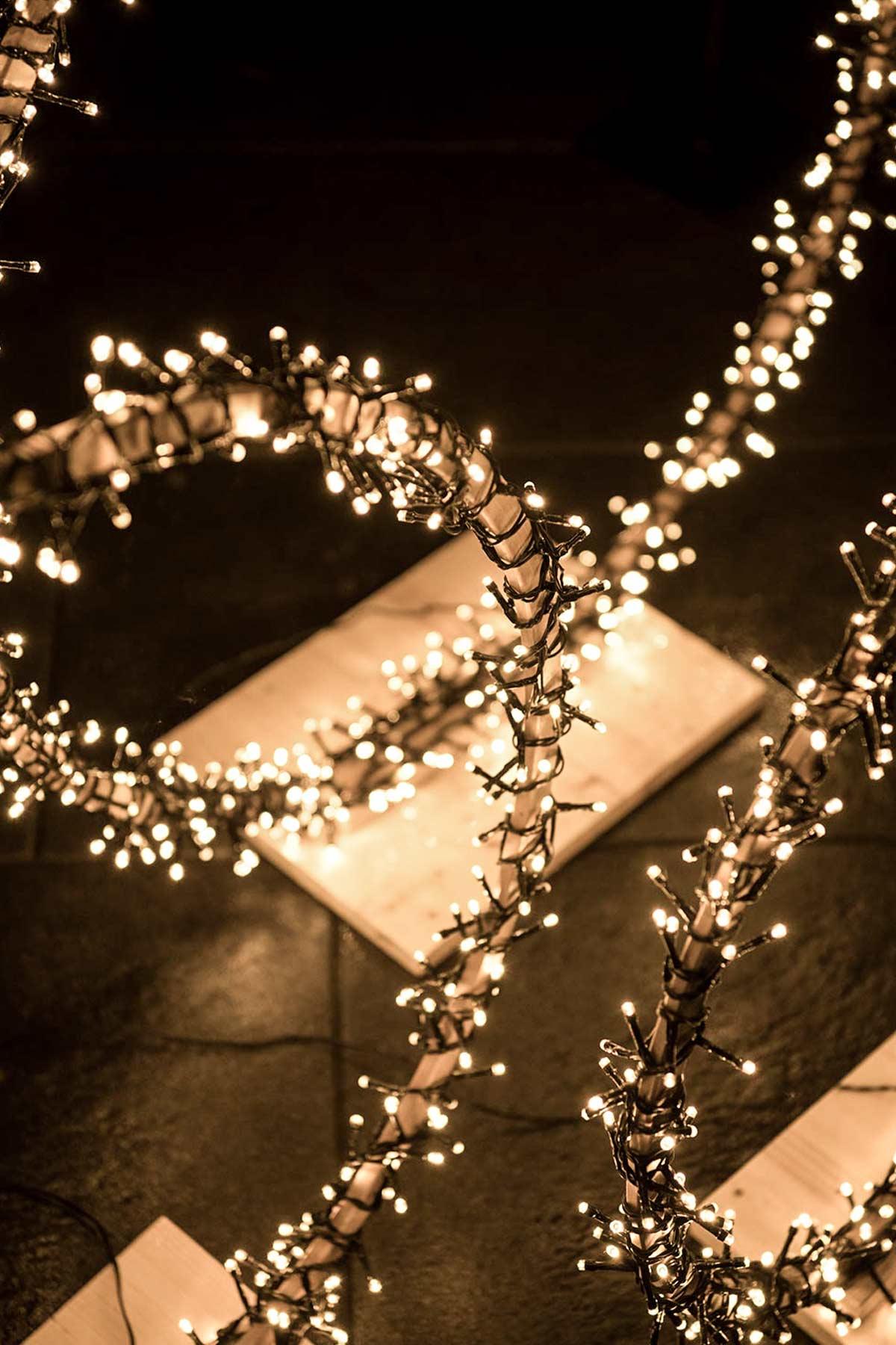 DIY Lichterketten Ringe