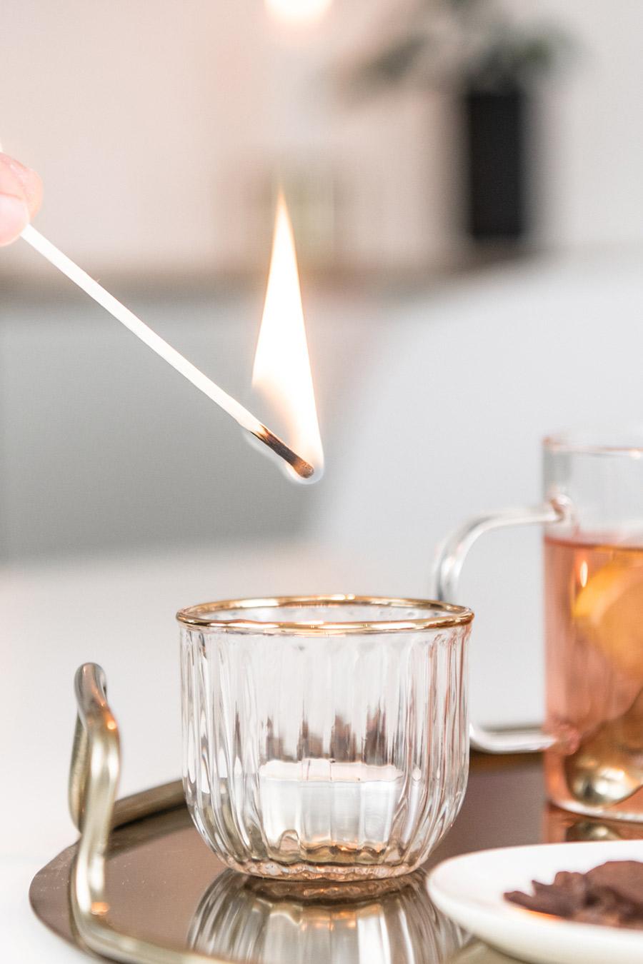 Teelichthalter HM Home