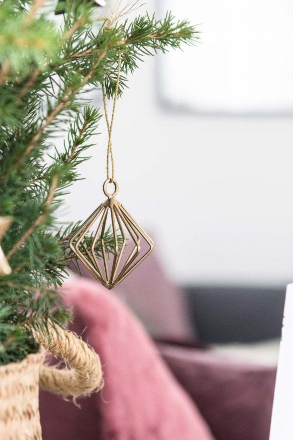 Weihnachtsbaumschmuck gold