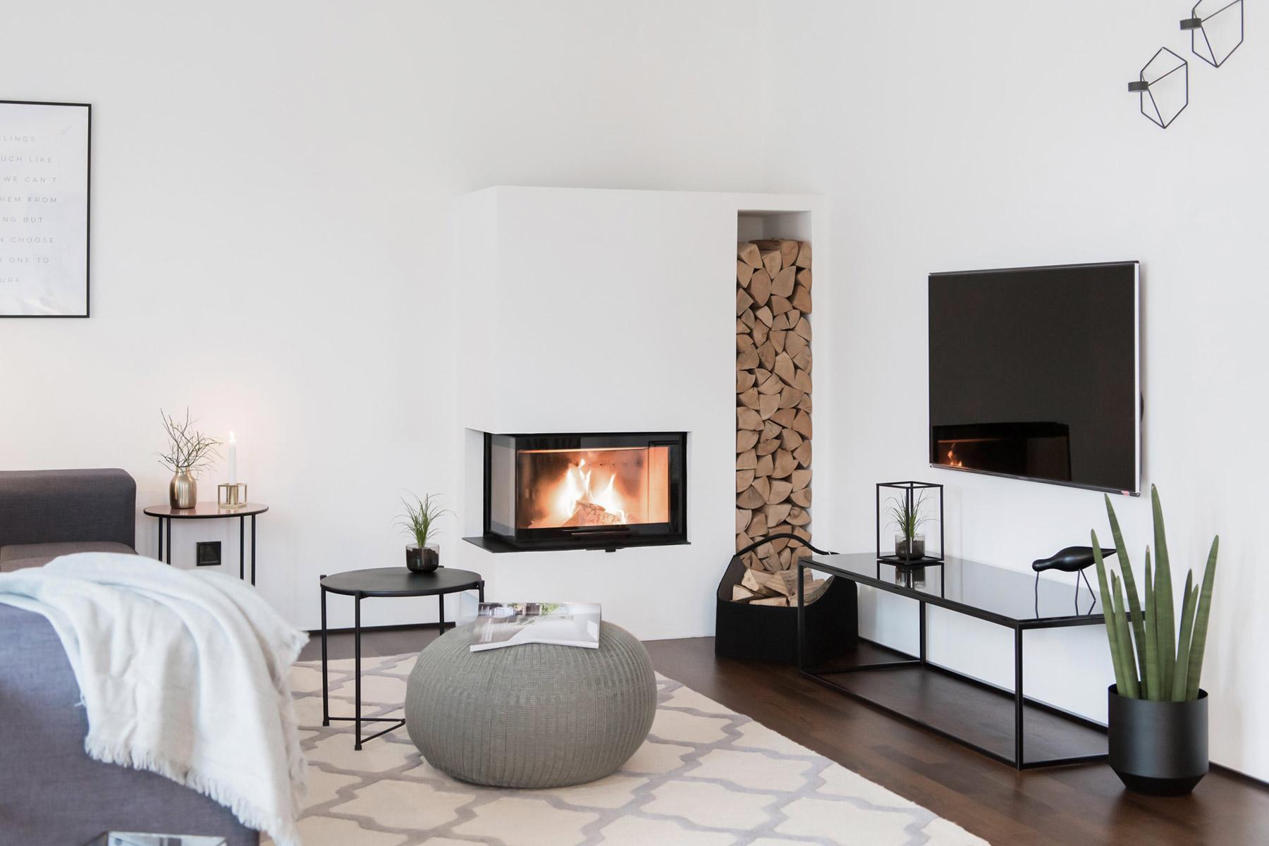 Wohnzimmer einrichten TV Board