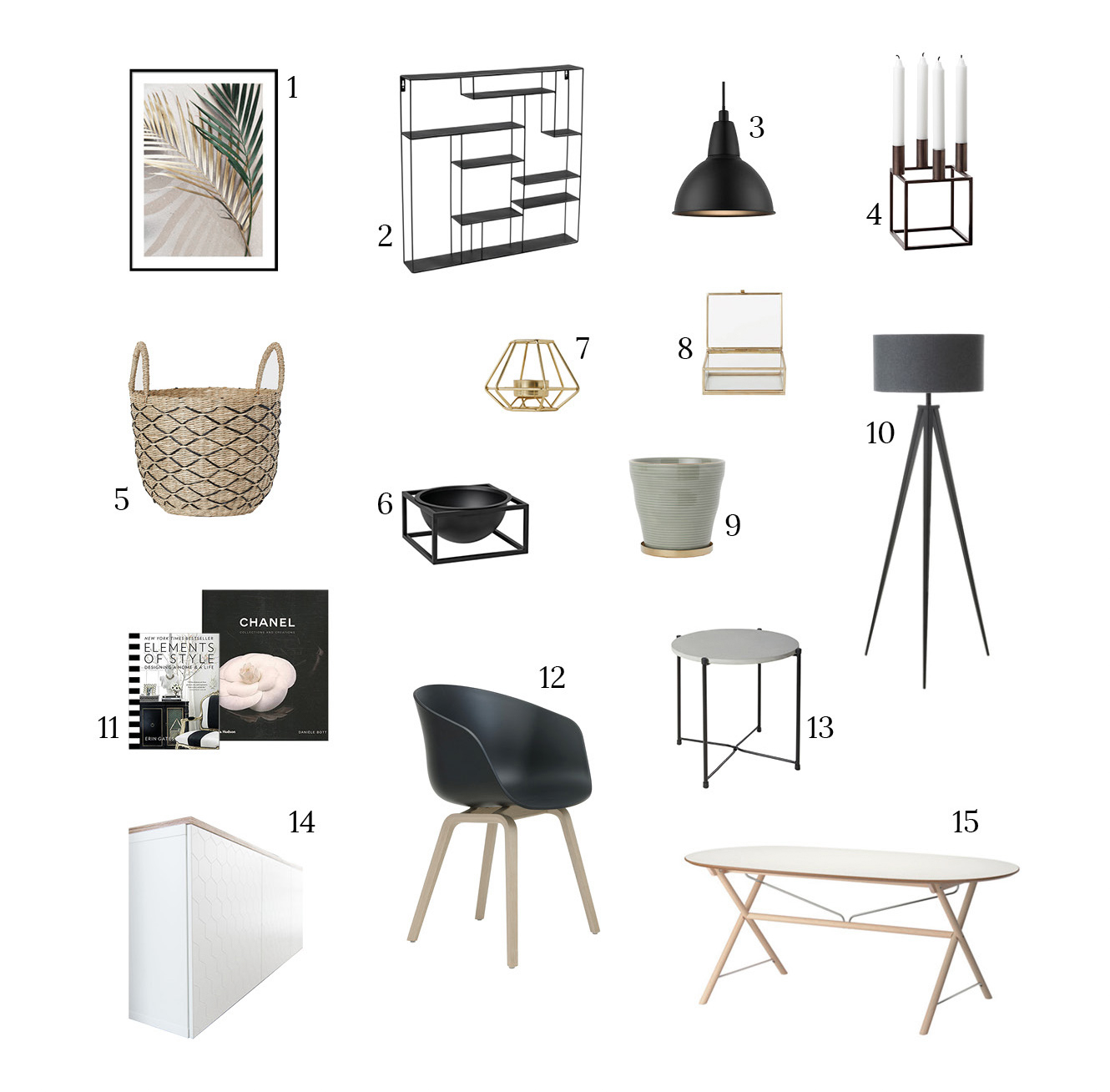 Esszimmer einrichten - Shop the Look