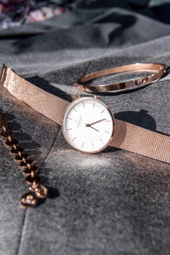 Nordgreen Uhr Infinity Roségold Mesh