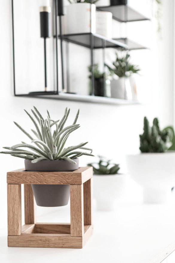 DIY Blumentopfhalter