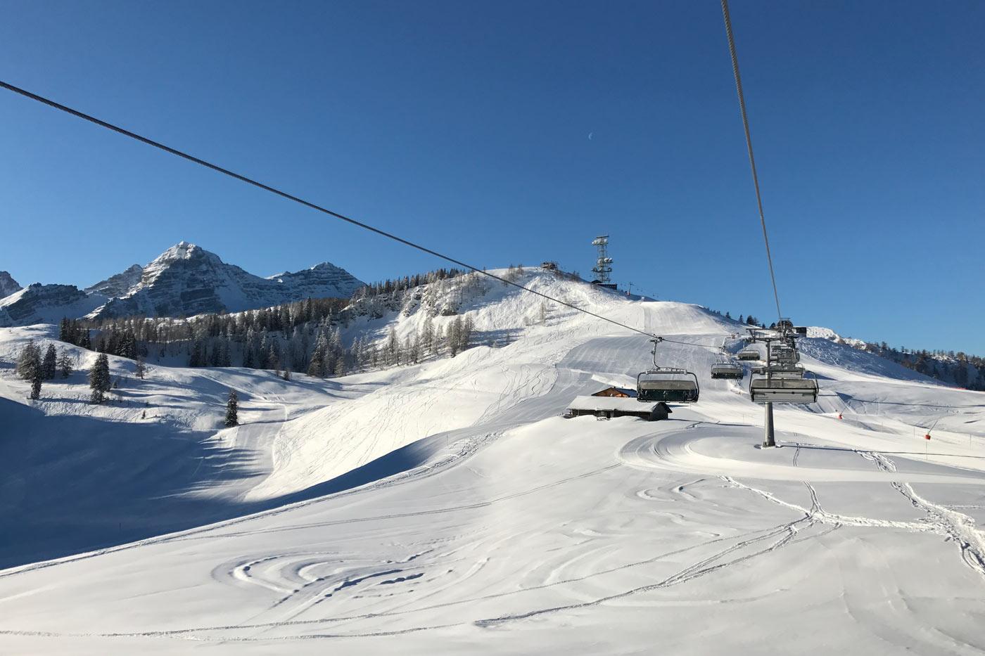 Tolles Skigebiet für Familien in Österreich