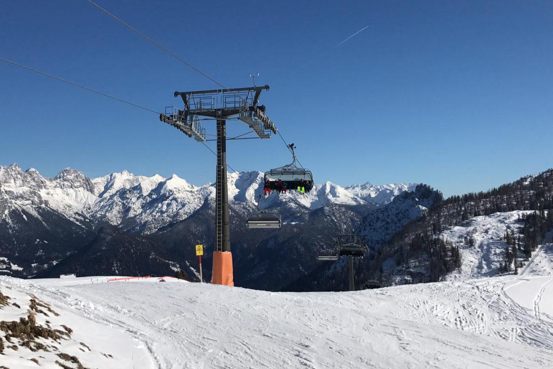 Skigebiet Loferer Almenwelt