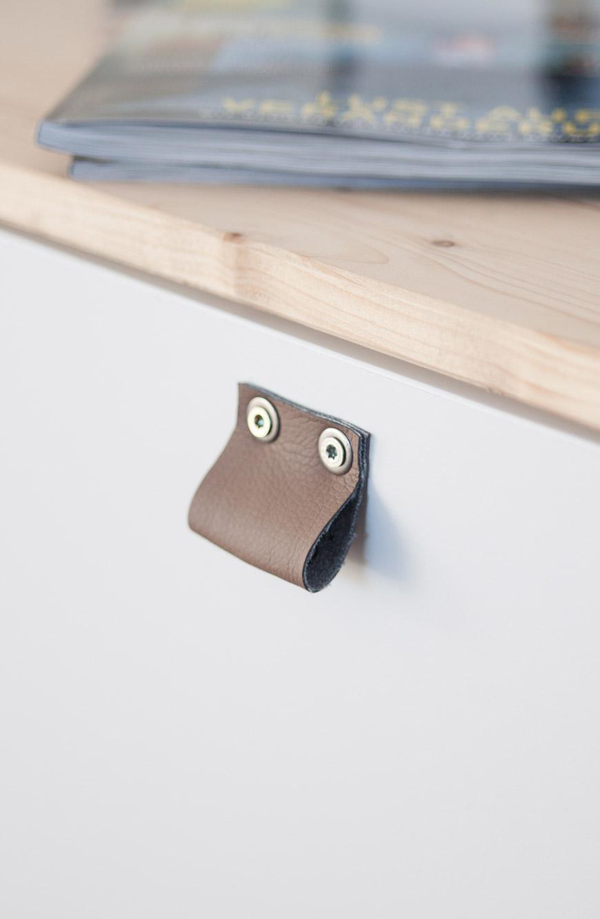 Ikea Besta Griff DIY Leder