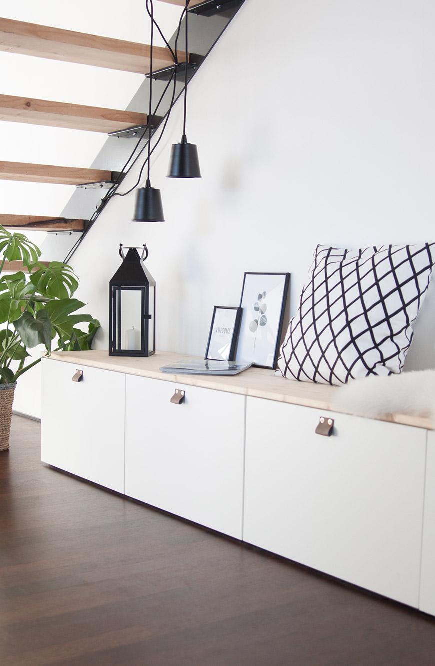 Sitzbank Flur Ikea DIY