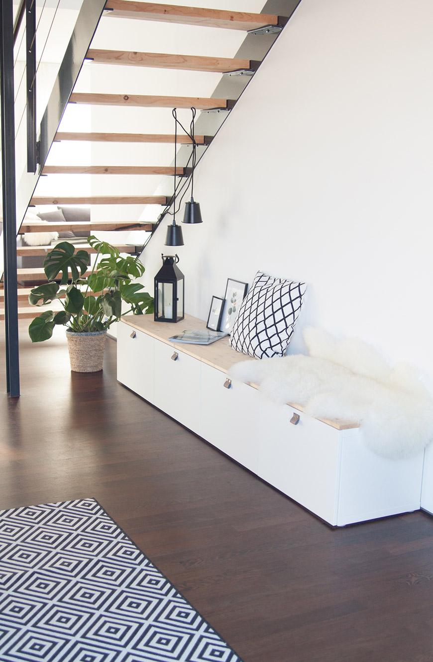 Ikea Hack Sitzbank Flur
