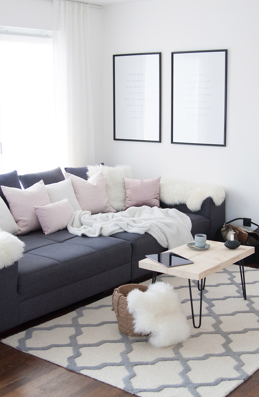 XXL Sofa Einrichtungsidee