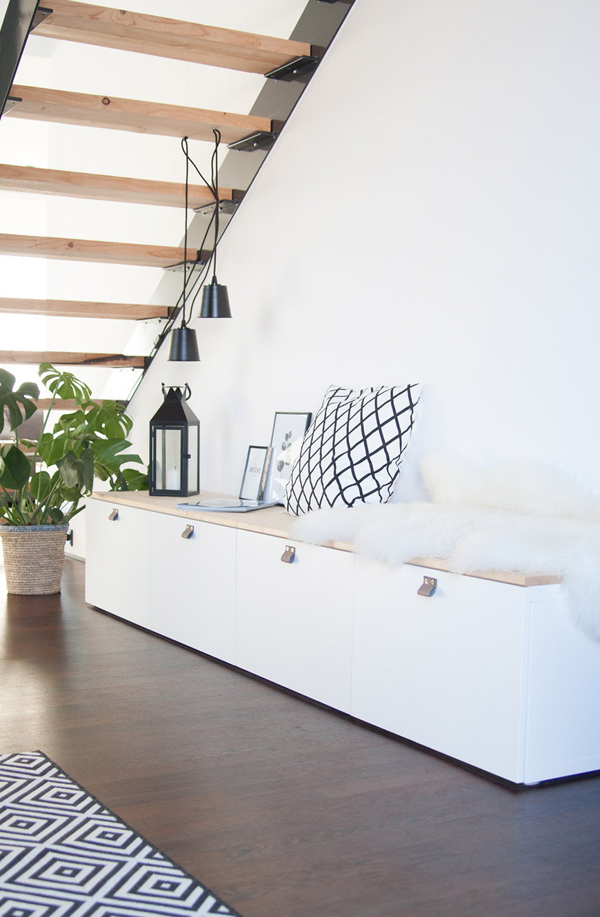 Ikea Hack Sitzbank Besta DIY