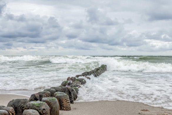 Buhnen Wellen Sylt