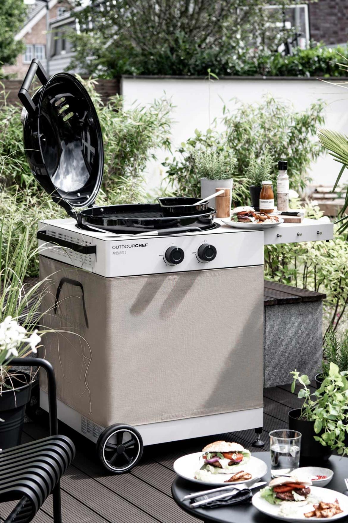 Outdoorküche Gasgrill Outdoorchef