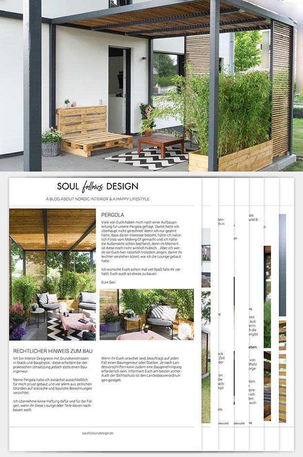 Anleitung Bau Pergola Holz