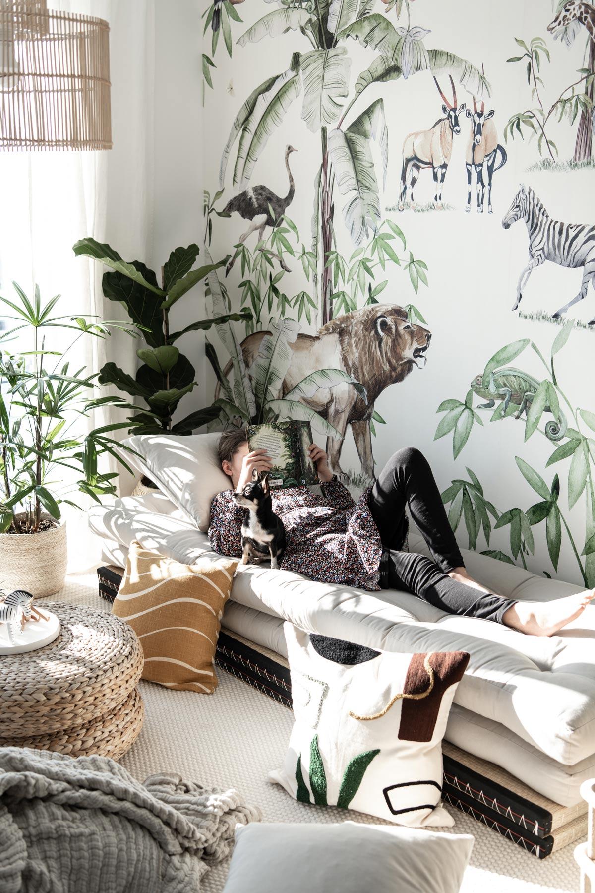 Dschungel Zimmer Wallpaper