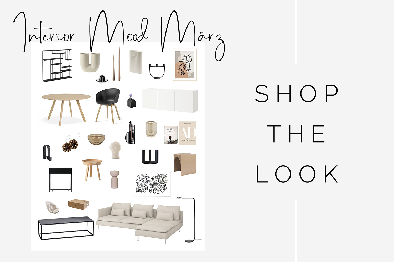 Shop the Look Skandi Interior